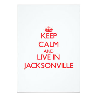 Keep Calm and Live in Jacksonville Announcements