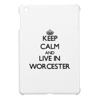 Keep Calm and live in Worcester Cover For The iPad Mini