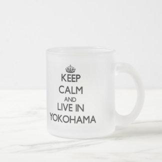 Keep Calm and live in Yokohama Mug