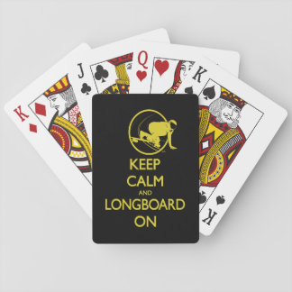 Keep Calm and Longboard On Cards