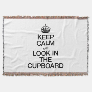 KEEP CALM AND LOOK IN THE CUPBOARD