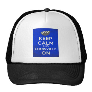 Keep Calm and Louisville On, Louisville, Colorado Hat
