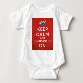 Keep Calm and Louisville On, Louisville, Colorado T-shirts