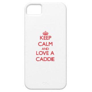 Keep Calm and Love a Caddie iPhone 5 Cases