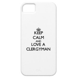 Keep Calm and Love a Clergyman iPhone 5 Covers