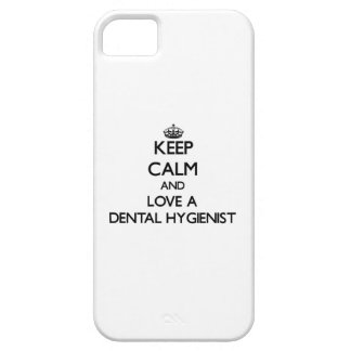 Keep Calm and Love a Dental Hygienist iPhone 5 Case