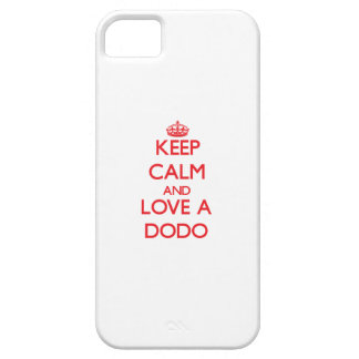 Keep calm and Love a Dodo iPhone 5 Cover