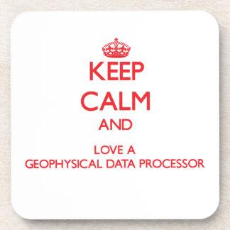Keep Calm and Love a Geophysical Data Processor Coasters