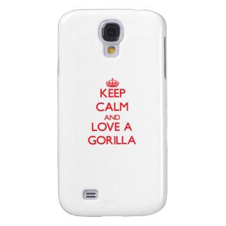 Keep calm and Love a Gorilla HTC Vivid Case