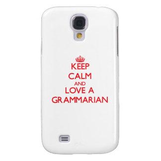 Keep Calm and Love a Grammarian HTC Vivid Cover