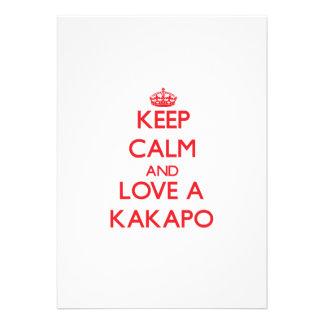 Keep calm and Love a Kakapo Announcements