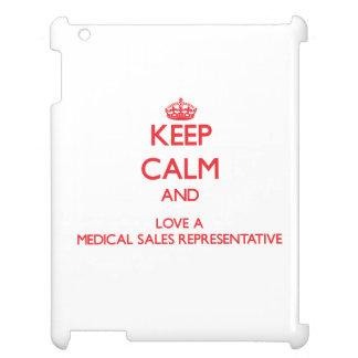 Keep Calm and Love a Medical Sales Representative iPad Cases