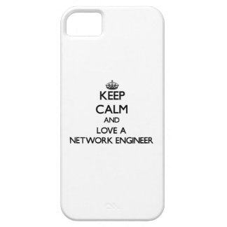 Keep Calm and Love a Network Engineer iPhone 5 Case