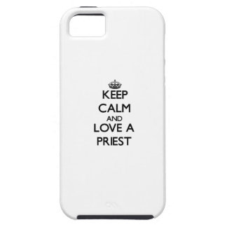 Keep Calm and Love a Priest iPhone 5 Covers