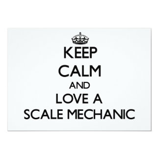 Keep Calm and Love a Scale Mechanic Invites