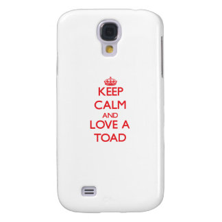 Keep calm and Love a Toad HTC Vivid Case