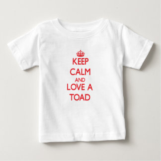 Keep calm and Love a Toad Tshirts