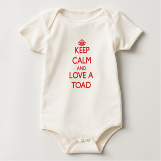 Keep calm and Love a Toad Baby Creeper