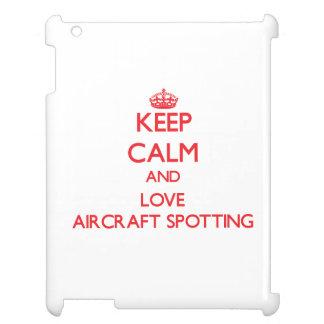 Keep calm and love Aircraft Spotting iPad Case
