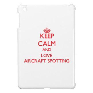 Keep calm and love Aircraft Spotting iPad Mini Covers