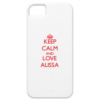 Keep Calm and Love Alissa iPhone 5 Cover
