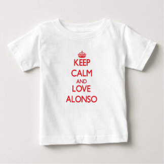 Keep Calm and Love Alonso Shirt
