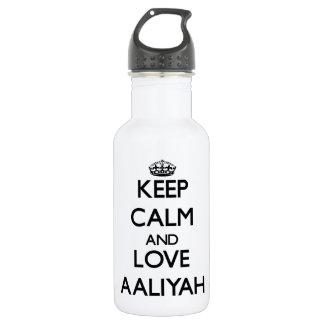 Keep Calm and Love an Insurance Broker 532 Ml Water Bottle