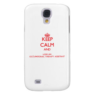 Keep Calm and Love an Occupational Therapy Assista HTC Vivid Cases