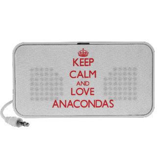 Keep calm and love Anacondas Speaker System