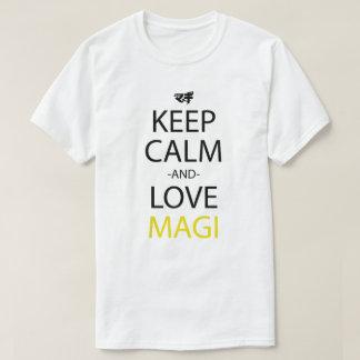 Keep Calm And Love Anime Manga Shirt