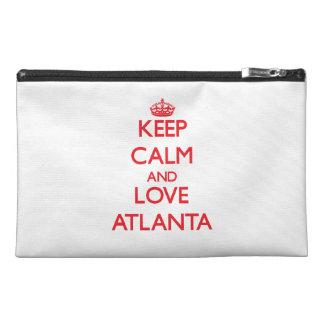 Keep Calm and Love Atlanta Travel Accessory Bags