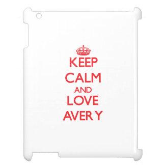 Keep calm and love Avery iPad Case