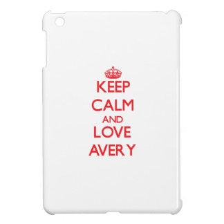 Keep calm and love Avery iPad Mini Case
