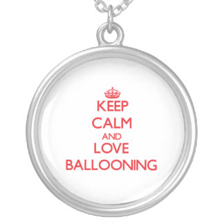 Keep calm and love Ballooning Necklace