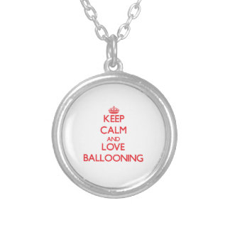 Keep calm and love Ballooning Pendant