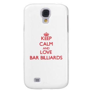 Keep calm and love Bar Billiards HTC Vivid Case
