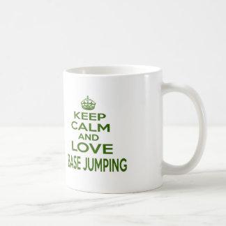 Keep Calm And Love Base Jumping Mug