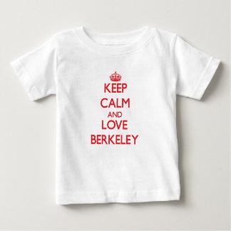 Keep Calm and Love Berkeley Baby T-Shirt