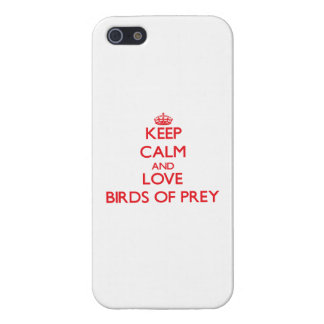 Keep calm and love Birds Of Prey Cover For iPhone 5