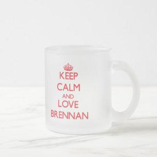 Keep Calm and Love Brennan Mugs