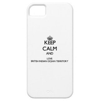 Keep Calm and Love British Indian Ocean Territory iPhone 5 Cover