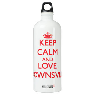 Keep Calm and Love Brownsville SIGG Traveller 1.0L Water Bottle