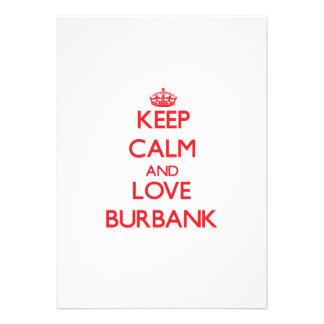 Keep Calm and Love Burbank Announcement