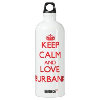 Keep Calm and Love Burbank SIGG Traveller 1.0L Water Bottle
