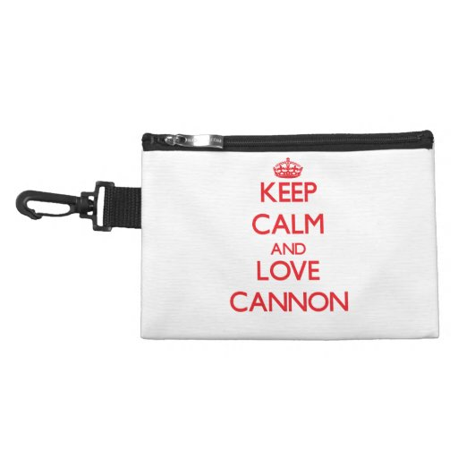 Keep calm and love Cannon Accessories Bag