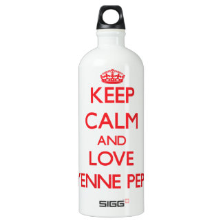 Keep calm and love Cayenne Pepper SIGG Traveller 1.0L Water Bottle