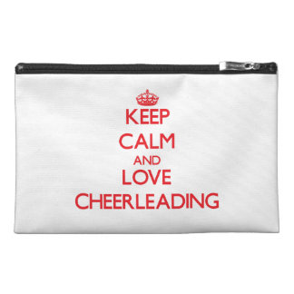 Keep calm and love Cheerleading Travel Accessories Bag
