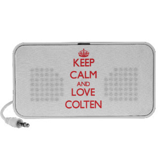 Keep Calm and Love Colten iPhone Speaker