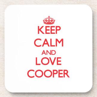 Keep calm and love Cooper Coaster