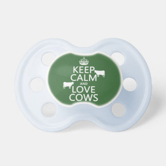 Keep Calm and Love Cows (all colors) Dummy